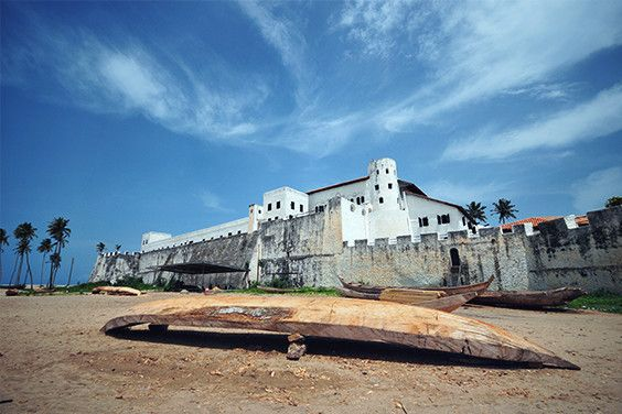 The Elmina Castle, built by the Portuguese in 1482, is the oldest European building within Sub-Saharan Africa and can be found in Ghana. #AfricaConnected