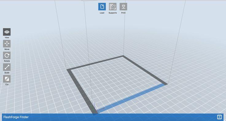 Der hauseigene Slicer von Flashforge der optimal für die 3D-Drucker des Herstellers angepasst sind. Für komplexere Anforderungen und erweiterte Funktionen gibt es andere Slicer.