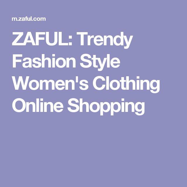 ZAFUL: Trendy Fashion Style Women's Clothing Online Shopping