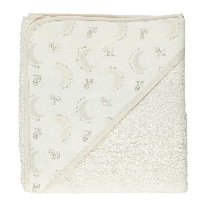 Moon Cotton Hooded Towel