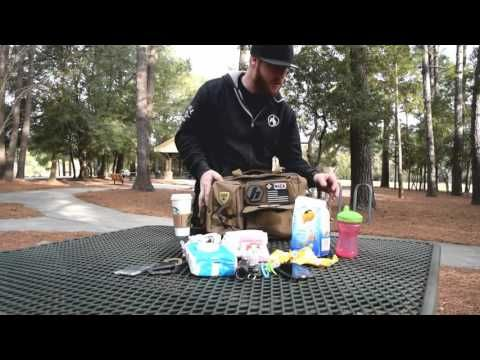 Diaper bag for dads in sand brown | Review of dads diaper bag from Tactical Baby Gear