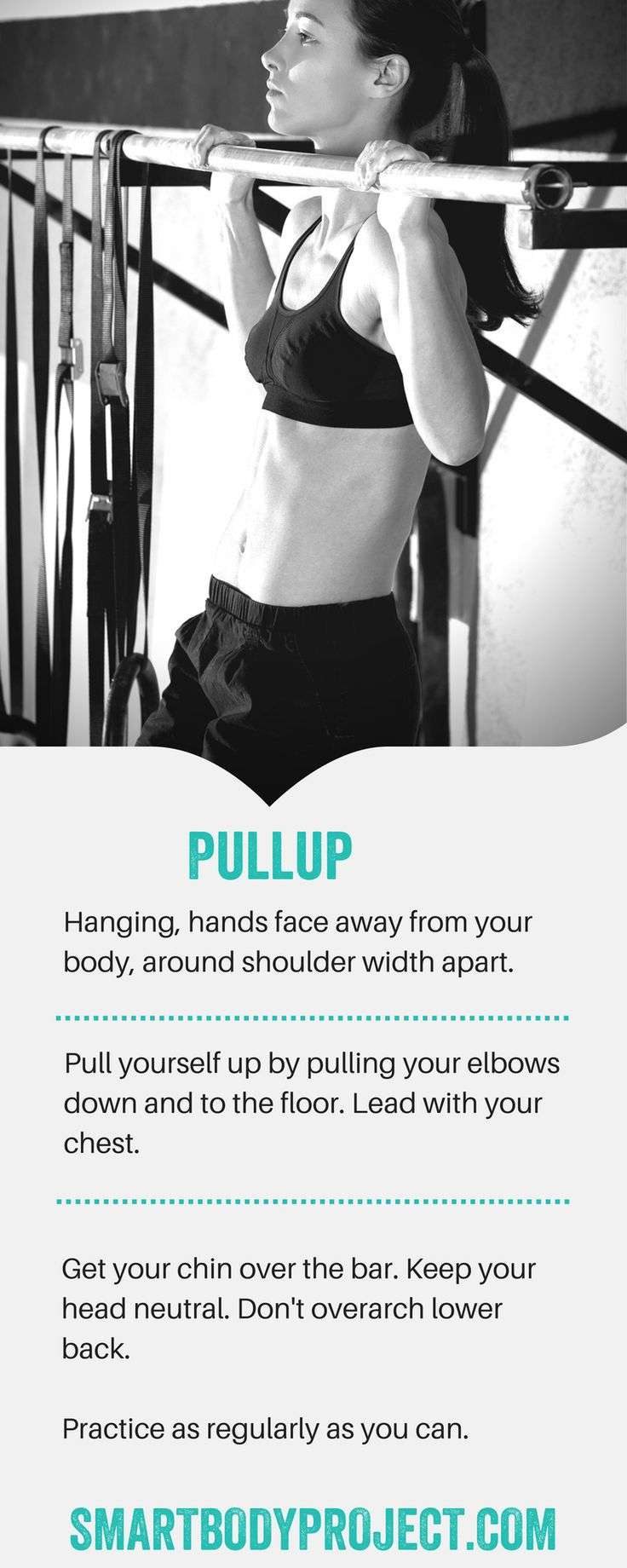 Think you can't do a pull-up or chin-up? Of course you can. You just haven't done one yet.  Rise to the challenge with my 28 Day Perfect Pull-up Program - with a whole-body, four-day split focused on helping you master the perfect pull-up.