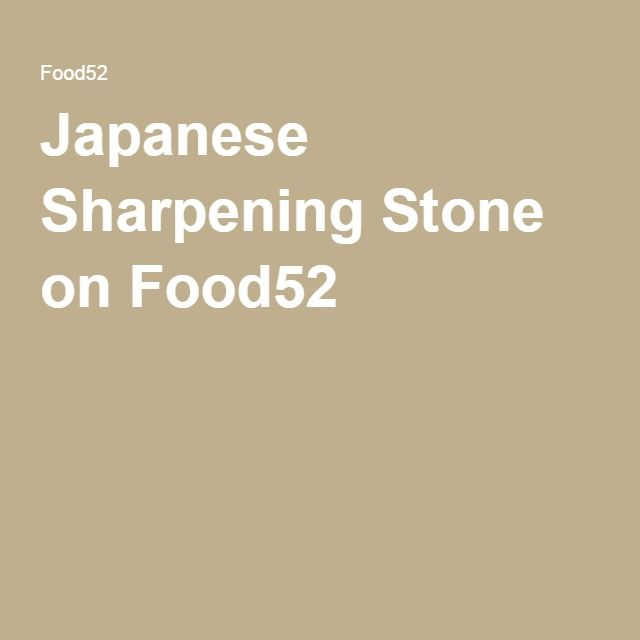 Japanese Sharpening Stone on Food52