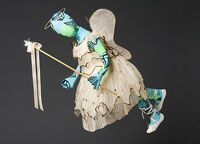 Philadelphia Museum of Art - Collections Object : Girl's Angel Costume: Dress, Wings, and Wand