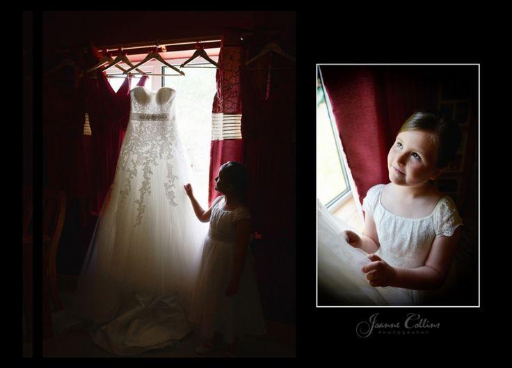 Chilham Castle Estate Wedding Photographer flowergirl and dress