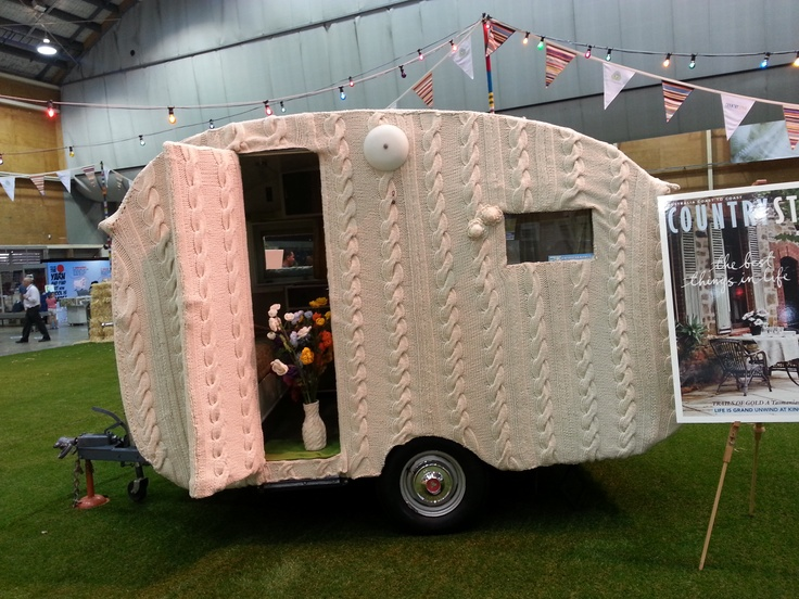 Knit your own motor home! #SRES #knitted
