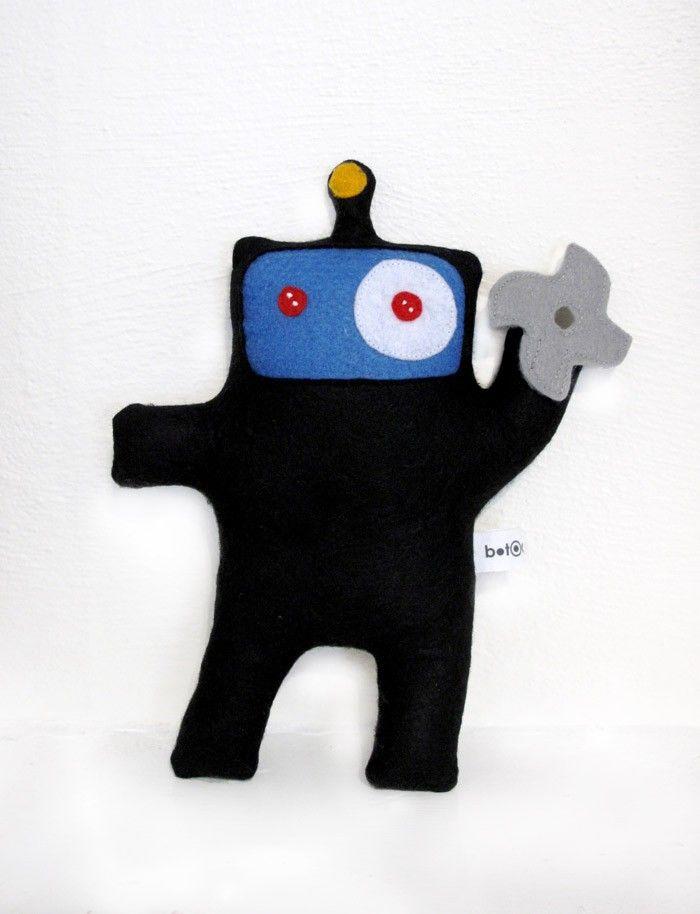 Robot Ninja Doll