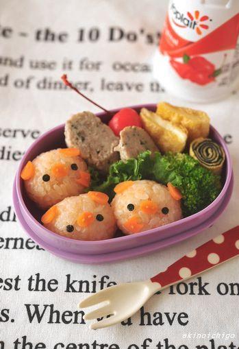 「三匹のこぶたのお弁当」:キャラ弁連載:15分でできる簡単キャラクター弁当:レシピブログ - tutorial