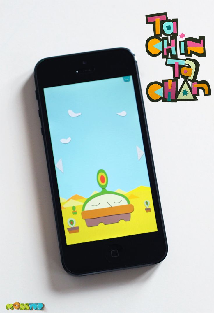 Clap! Shake! Tilt! Blow! Let's get physical! - Tachin Tachan - #Music App for kids by MOSSTER