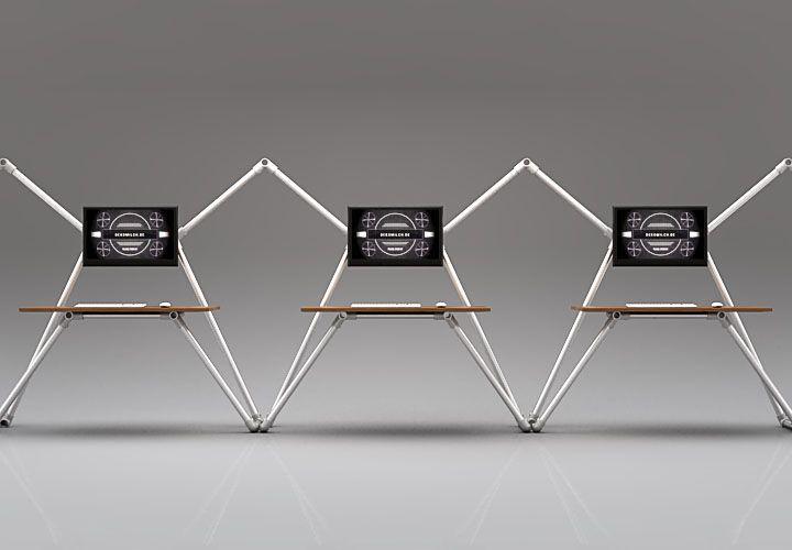 1000 ideas about schreibtisch selber bauen on pinterest - Computertisch selber bauen ...
