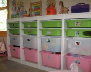 Large Childrens Storage Boxes