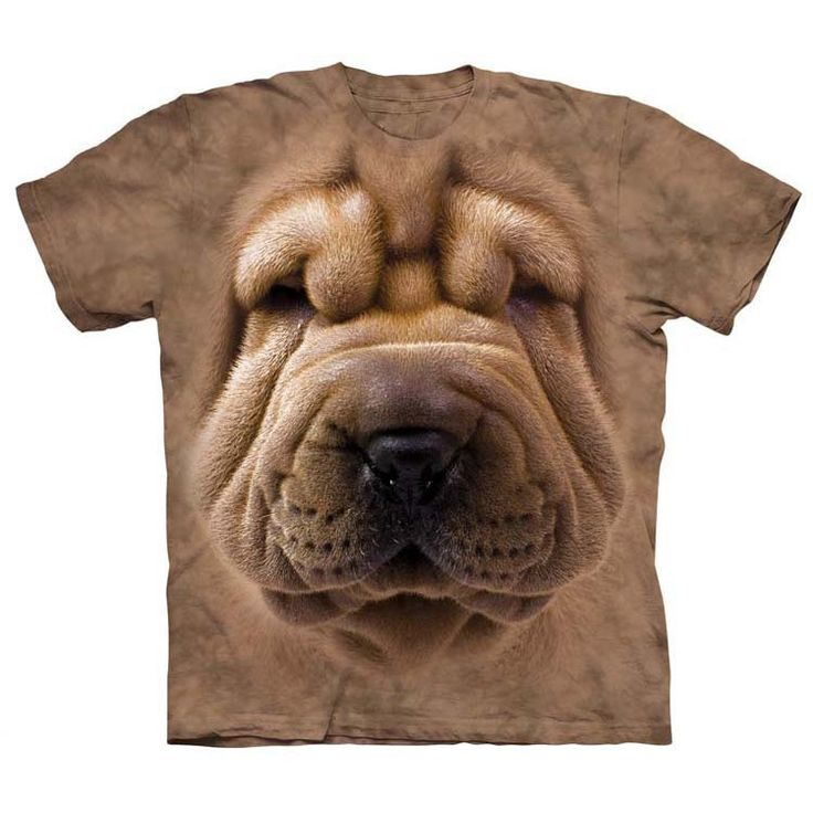 Get the best deals for Big Face Shar Pei Puppy T-shirt here - Product http://tshirtrain.myshopify.com/products/big-face-shar-pei-puppy  #tshirt