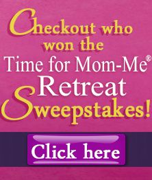 Do you want to see who won our Time For Mom-Me Retreat Sweepstakes? Check this out!