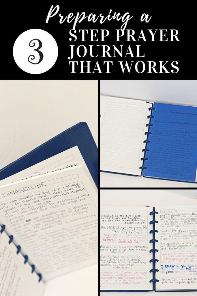 Preparing a 3 Step Prayer Journal that Works | War binder