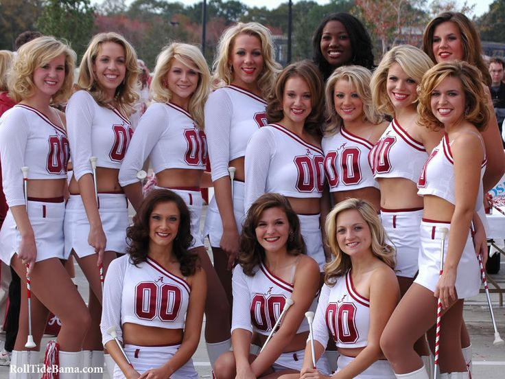 Alabama Cheerleaders Photo:  This Photo was uploaded by budro19. Find other Alabama Cheerleaders pictures and photos or upload your own with Photobucket ...