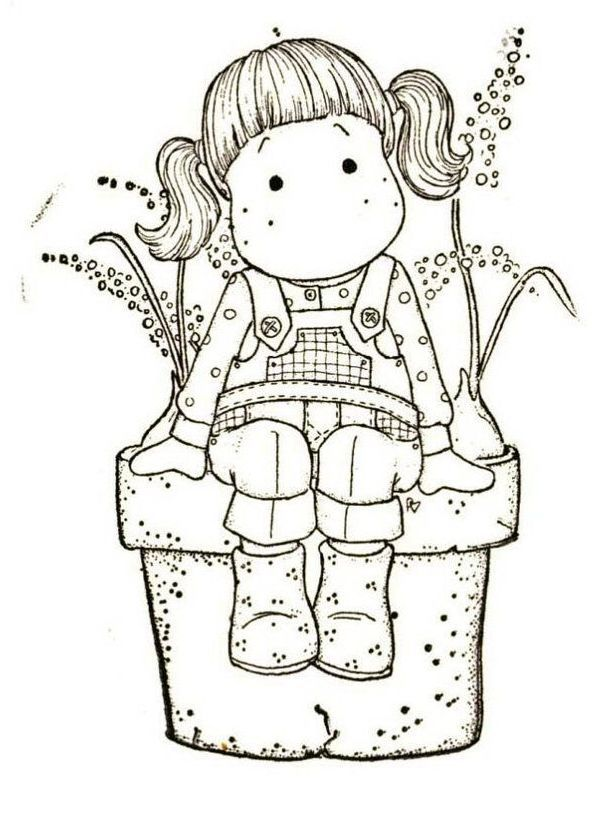 magnolia stamps coloring pages - photo#14