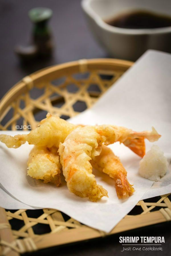 Shrimp Tempura | Easy Japanese Recipes at JustOneCookbook.com Made only the shrimp but I absolutely loved them.