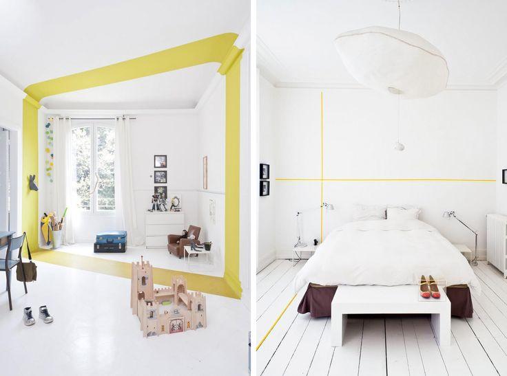 Il colore si fa minimal e allo stesso protagonista: non è necessario dipingere grosse superfici per portare il colore sulle pareti di casa tua!
