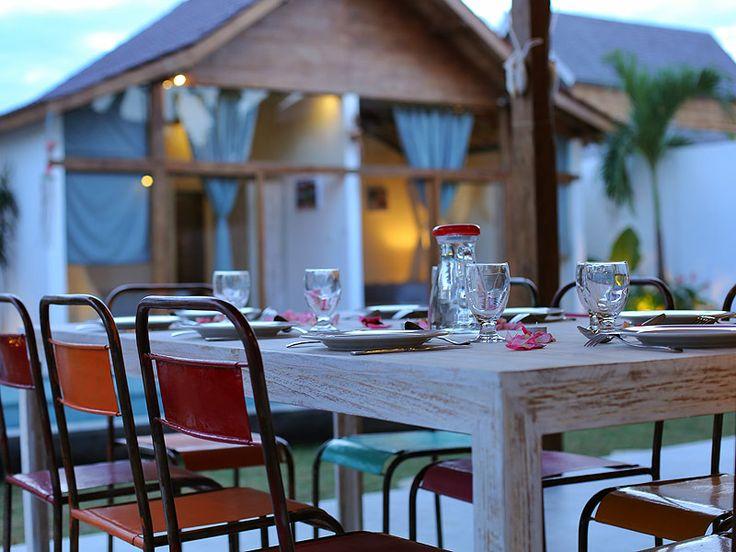 Emplacement idéal pour un #dîner familial et #convivial .