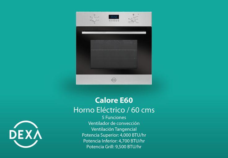 Horno Eléctrico Calore E60