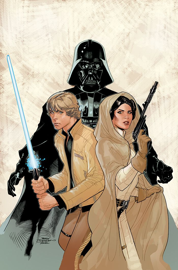 Star Wars - The Skywalker family by Terry Dodson - Kamisama.fr - Artwork, Cosplay, Manga, Sexy, Otaku, Geek, Comics // 神様