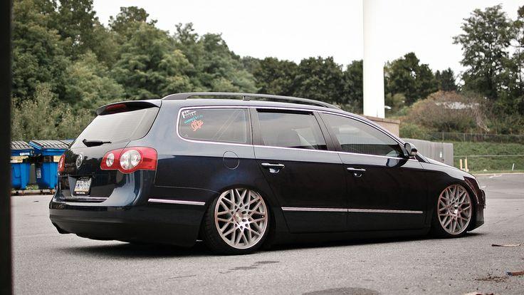 passat wagon custom | Passat Wagon Lowered