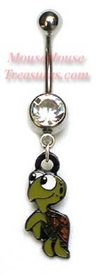 Squirt from Finding Nemo belly ring!