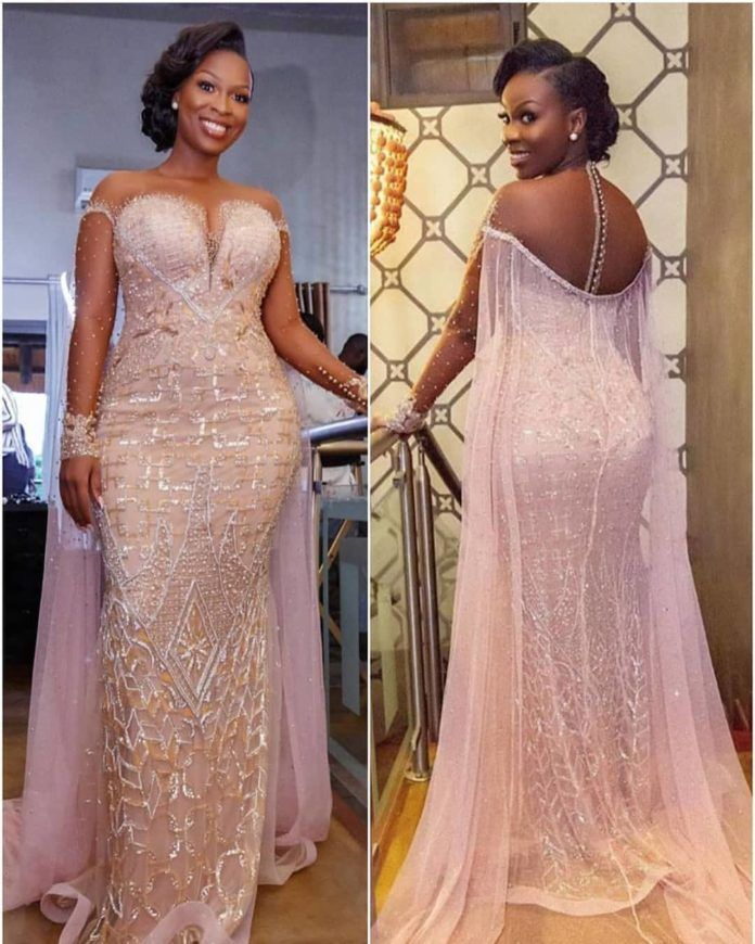 Asoebi Styles For Wedding Check Out 25 Stunning And Beautiful Asoebi Styles For Wedding African Prom Dresses African Lace Dresses Bride Reception Dresses