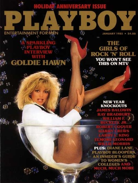 Playboy magazine cover January 1985   Playboy Covers  multicityworldtravel.com cover  world over Hotel and Flight deals.guarantee the best price