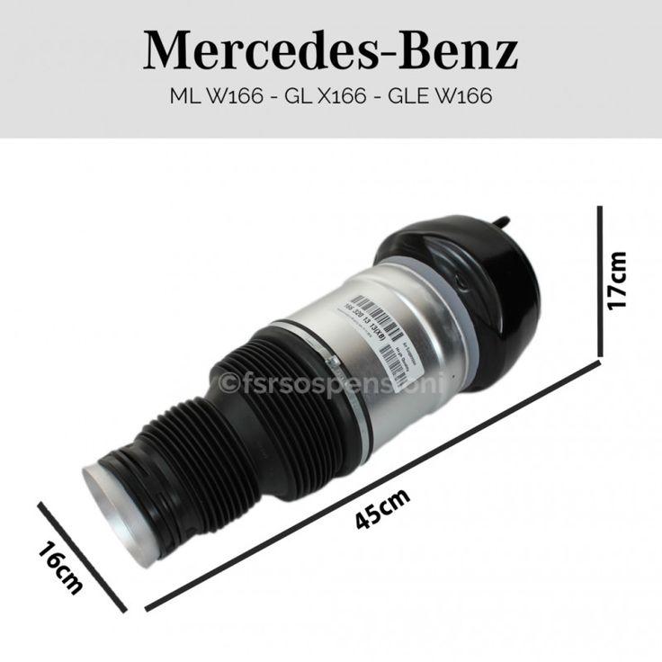 Kit revisione Mercedes-Benz Classe ML W166 anteriore sinistro
