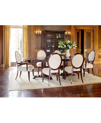 Lauren Ralph Lauren Dining Room Furniture, Mitchell Place 7 Piece Set (Dining  Table, 4 Side Dining Room Chairs And 2 Arm Dining Room Chairs)   Dining  Room ...