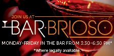 Bar Brioso Happy Hour Drinks and Food #DineLocal