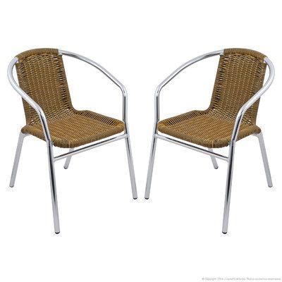 Cadeira Ibiza 2 Peças Cromado/Mesclada - Acasa
