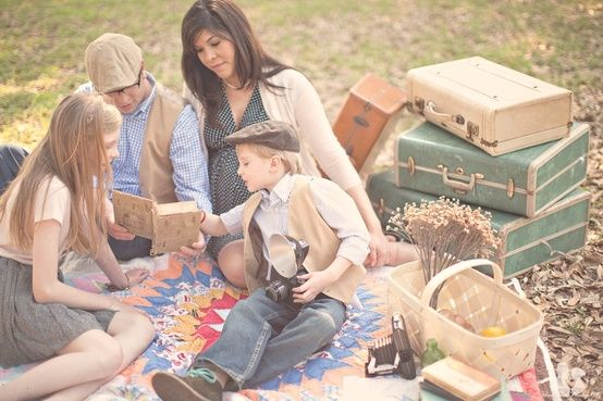 vintage family photography by dionne