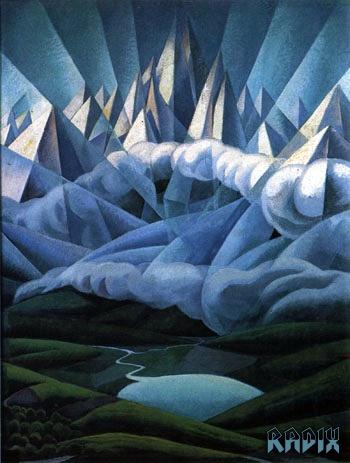Forze Ascensionali, 1930 - Gerardo Dottori