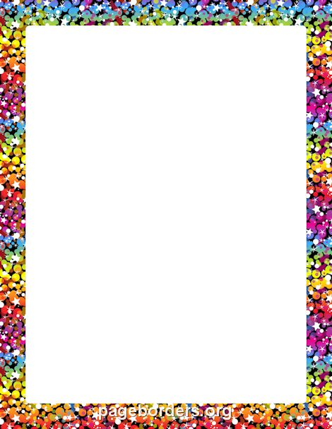Magic image with regard to printable borders