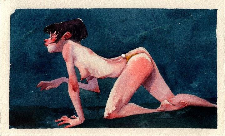 Julia Bax #illustration #watercolor