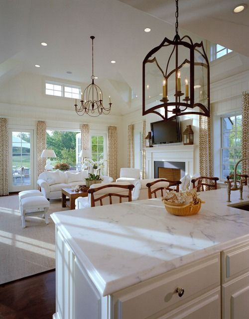 Unique lighting is worth the investment, it's like jewelry for your home. Coordinate styles and finishes (all bronze or all silver tones, for example) so there is a flow throughout your home. Use similar finishes for cabinet handles, faucets, door hardware. These little details are what designers use to create a unique, finished look.