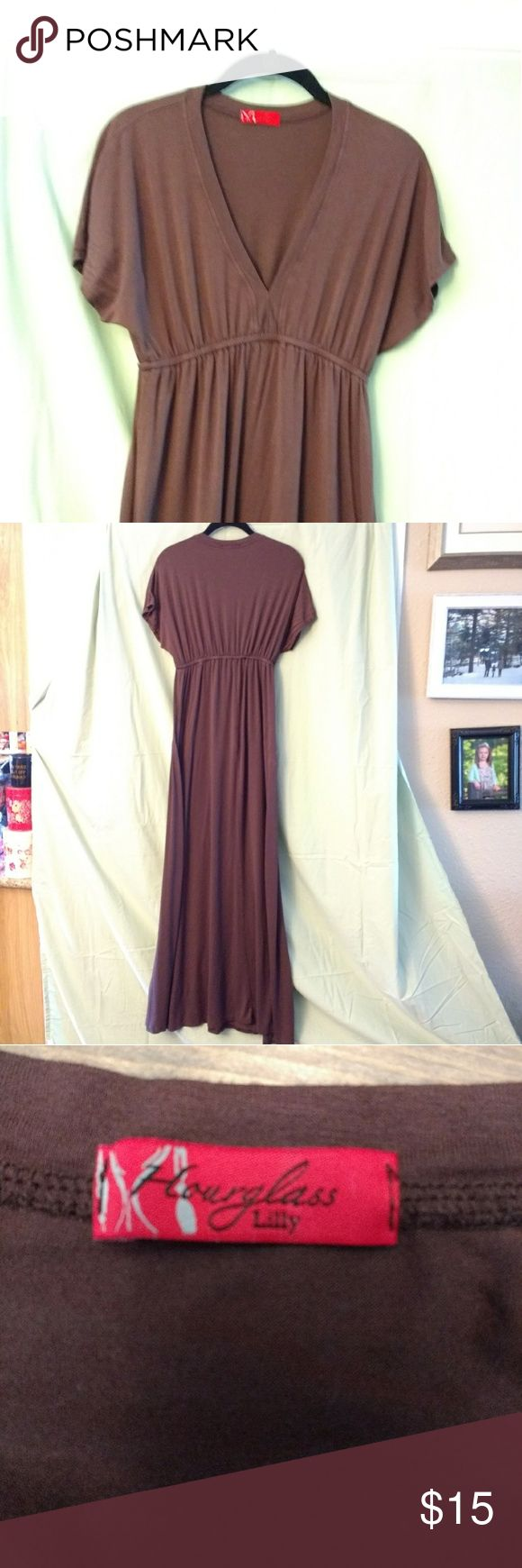 Hourglass lilly maxi dress Hourglass lilly brown maxi dress hourglass lilly Dresses Maxi