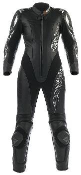 Dainese T. Tattoo P. Lady Estiva 1 piece Leather Motorcycle suit size  pepkick.com