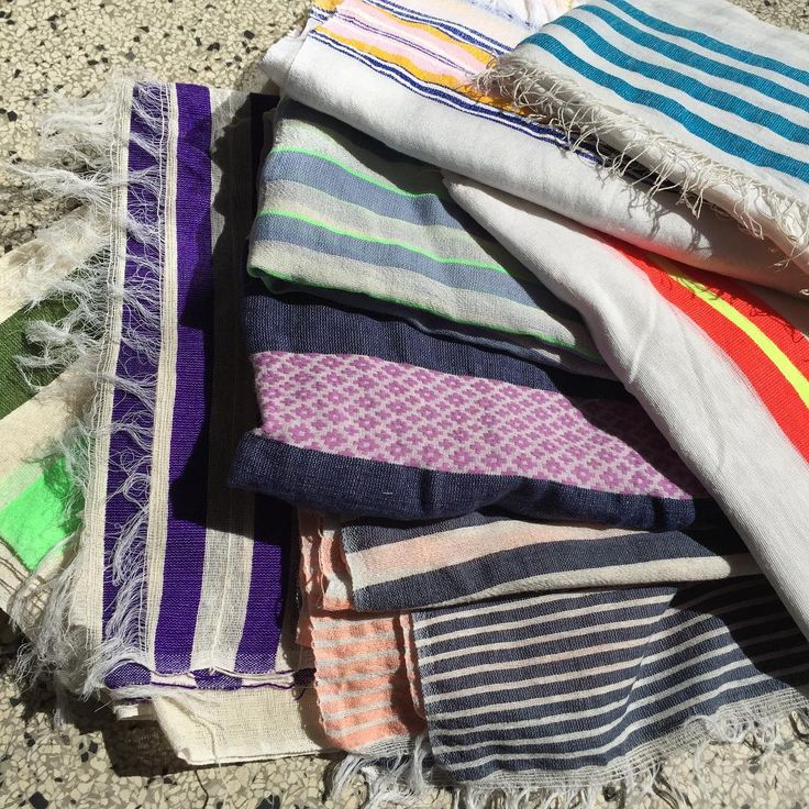 Summer inspired scarfs, perfect for the weekend summer nights ✨ woven in africa by a small family company.  #scarf#summernights#africa#colors#sun#rabenssalonerstore#beach#copenhagen