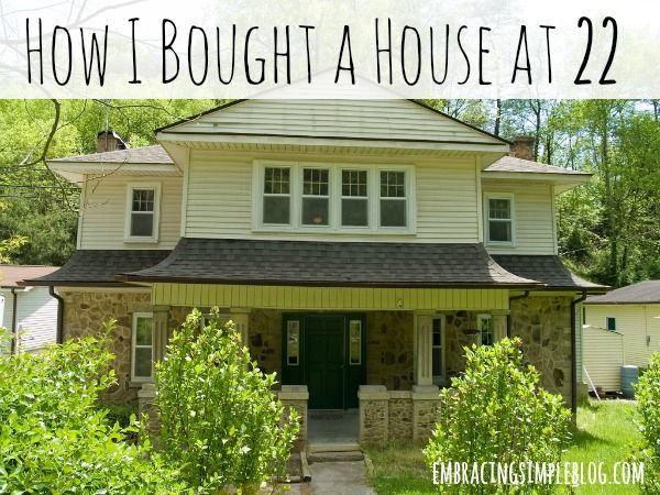 How I Bought a House at 22 - helpful tips on how to save $$ and put your house as your #1 priority
