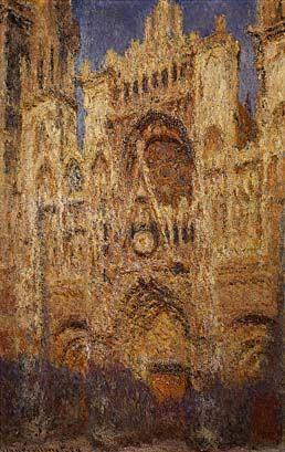 La cattedrale di rouen il portale sole del mattino - Portale del sole ...