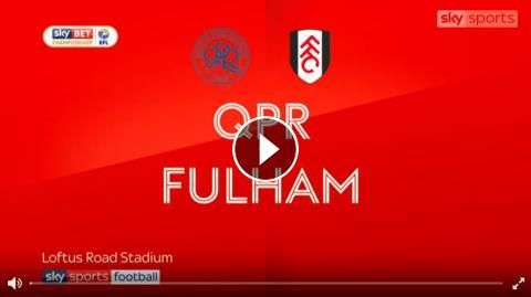 Video: Queens Park Rangers 1 - 2 Fulham Highlights and Goals Online - Sky Bet Championship - Friday 29, September 2017 - FootballVideoHighlights.com. ...