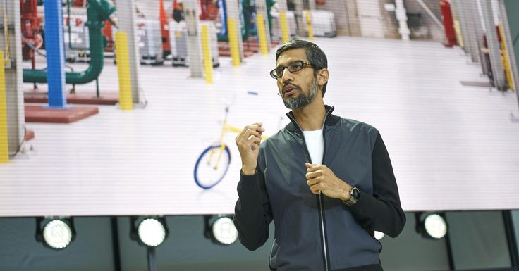 #Google CEO: 'The bigger #youare, the more you may be at a disadvantage' #USeconomy http://cnb.cx/2gwncF7  Investors have pushed the prices of tech stocks ever higher, boosting the market value for Facebook and Google above giants like Exxon Mobil and JPMorgan Chase over the past 10 years. Google's dominance in search advertising has not come without scrutiny, especially in Europe, where regulators penalized the company with a record fine.