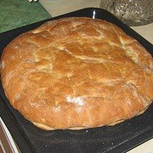 Slovak Pagach Bread