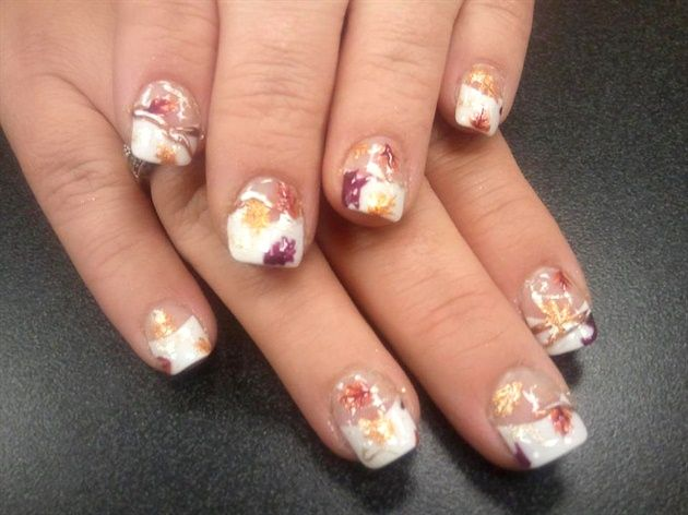 Fall Wedding - Nail Art Gallery by NAILS Magazine - 298 Best Fall / Thanksgiving Nails Images On Pinterest Fall Nail
