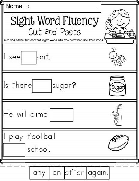 Free Printable Worksheets For 5 Year Olds   Educative ...