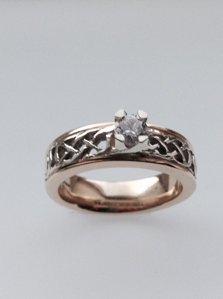 17 Best Images About Celtic Knot Rings On Pinterest
