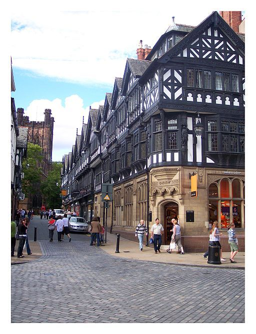 Chester is the county town of Cheshire,  is one of the best-preserved walled cities in the UK. Copyright: Georgios XXX